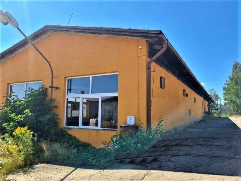 Prodej provozní haly 456 m2, Vroutek, okr. Louny