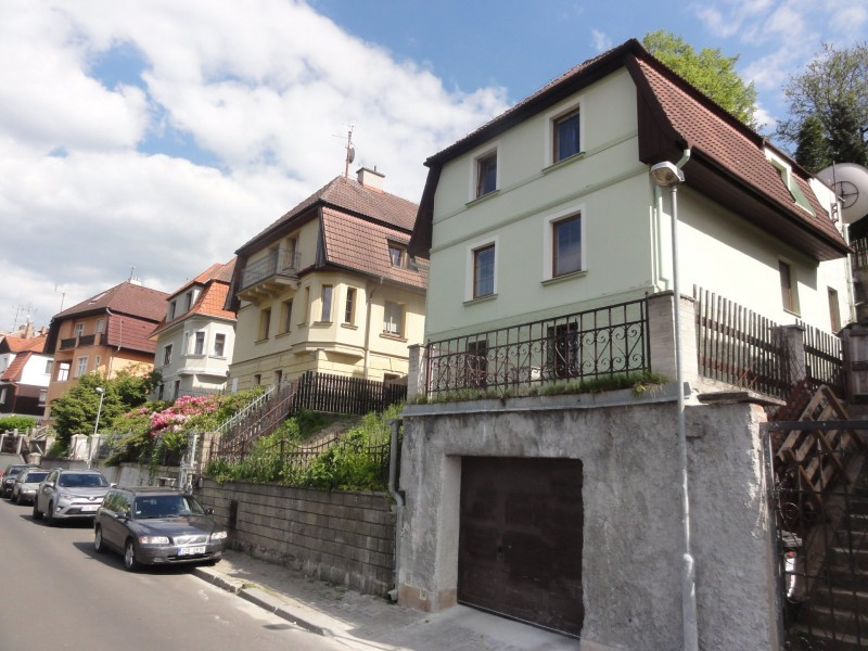 Prodej vily Karlovy Vary Kvapilova ul.